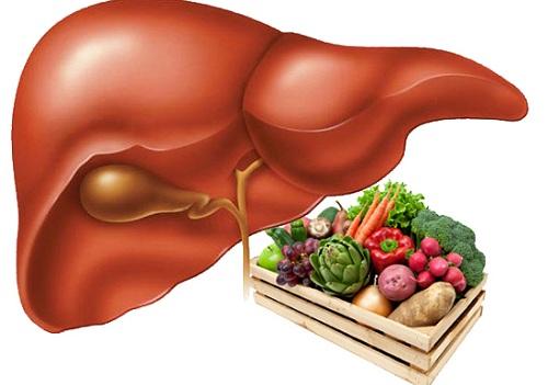 Здоровая еда и печень