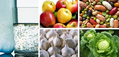 продукты, способствующие газообразованию