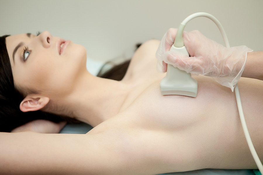 Процедура УЗИ груди