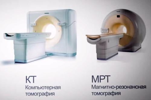 Аппартаты КТ и МРТ