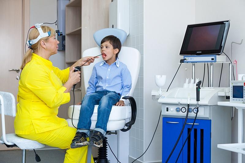 Процедура фиброларингоскопии